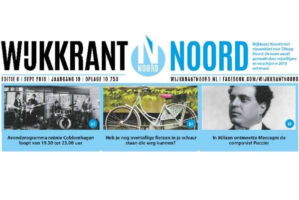 Wijkkrant Noord editie 6, september 2018.
