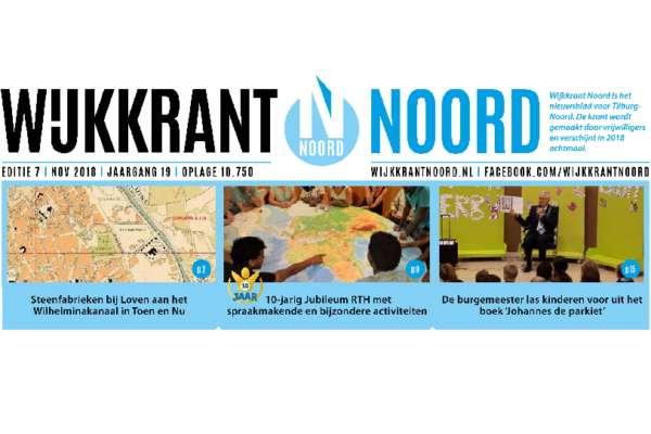 Wijkkrant Noord editie 7, november 2018.
