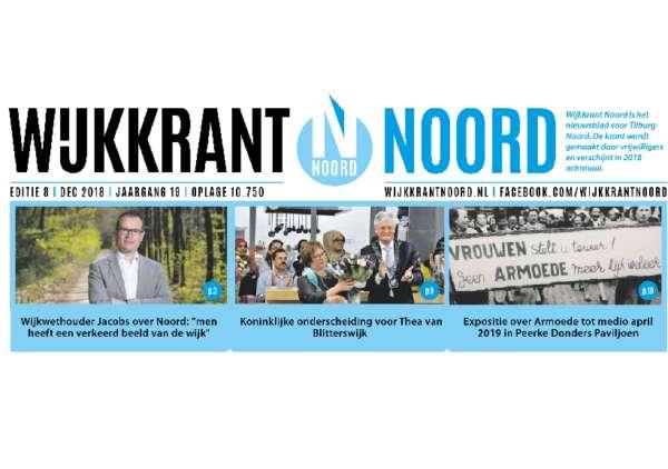 Wijkkrant Noord editie 8, december 2018.