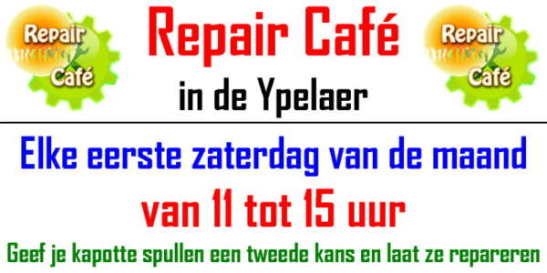 Repair Café: Weggooien? Mooi niet!