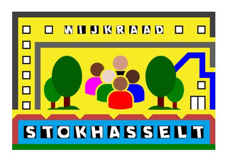 Logo Wijkraad Sticker (Nieuw)