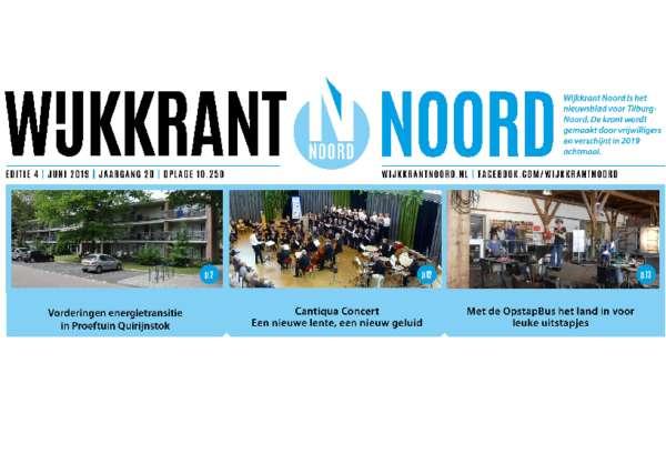 Wijkkrant Noord editie 4, juni 2019