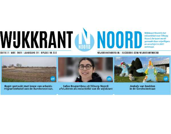 Wijkkrant Noord editie 2, maart 2021