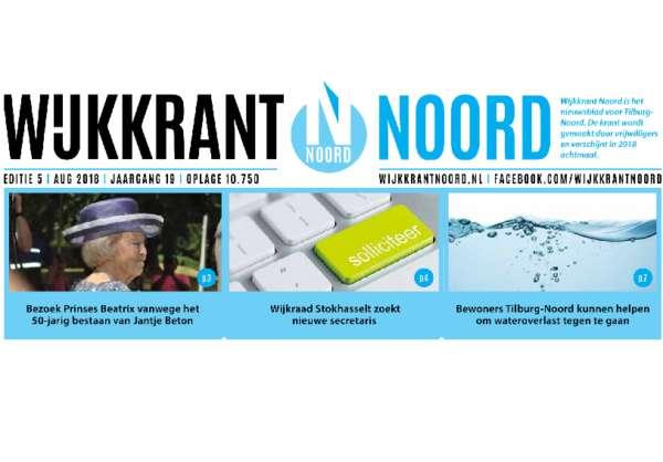 Wijkkrant Noord editie 5, augustus 2018.