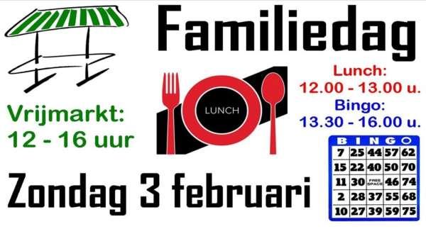 Familiedag + Vrijmarkt