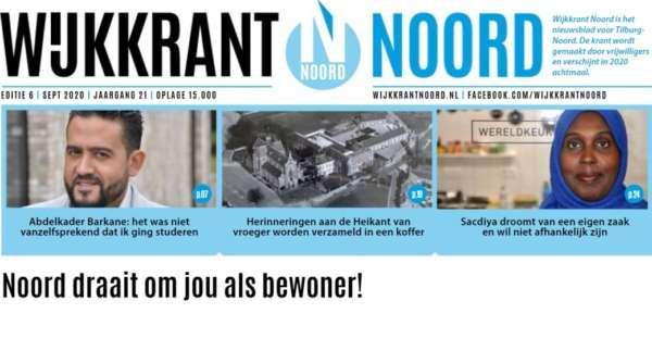Wijkkrant Noord editie 6, september 2020