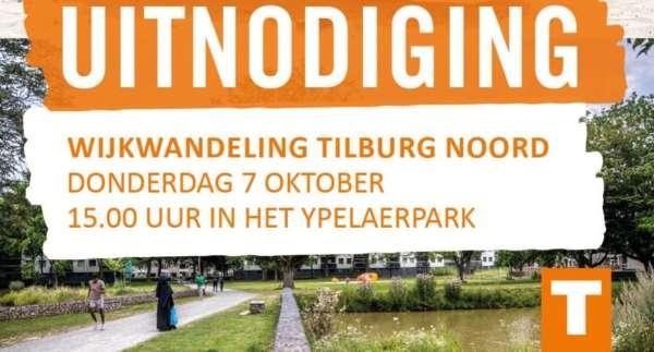 Wijkwandeling Tilburg-Noord